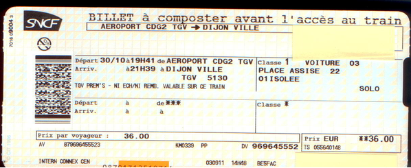 Sncf billet prems