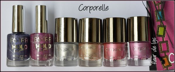 Corporelle Astra holo & Collection miroir