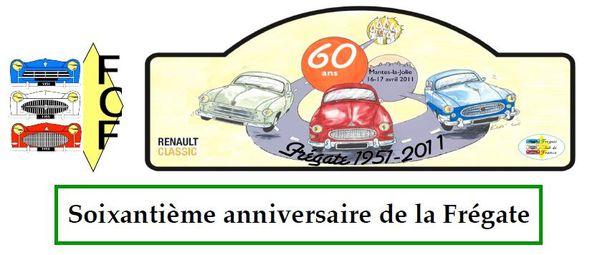 60 ans Frégate plaque