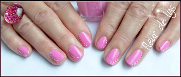 Decoration ongles simple