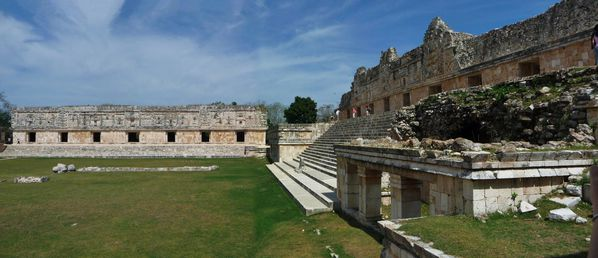 Jour 8 Uxmal panoramique