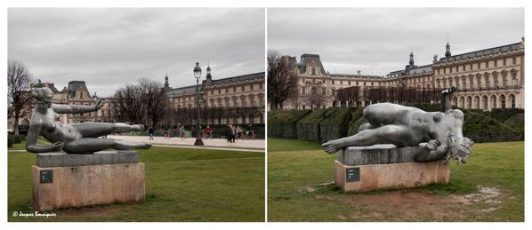 Air et Riviere Aristide Maillol Tuileries Paris