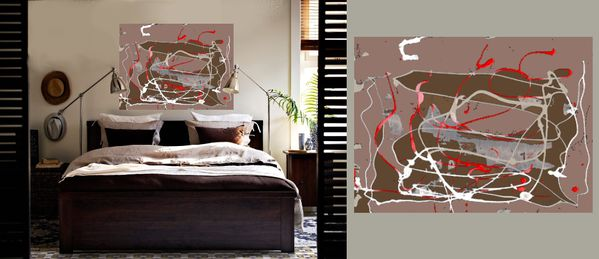 d co sur mesure marron glac le blog de chris laure. Black Bedroom Furniture Sets. Home Design Ideas