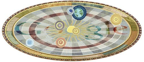 Google - Doodle - Nicolaus - Copernicus - 540th birthday
