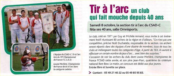 article Le Chatelleraudais 01 10 2011