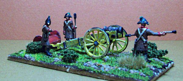 artillerie à cheval vecsey