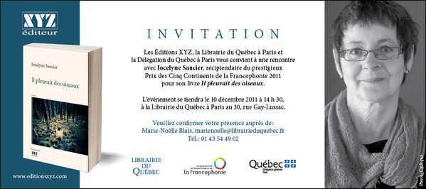 invitation Paris Saucier