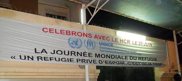 refugie banderole