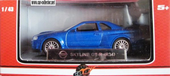 nissan Skyline GTR R34 go4 collection de voitures sport