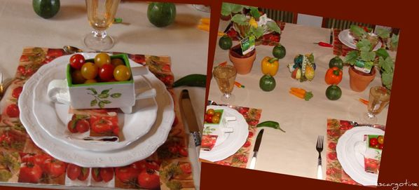table légumes 9
