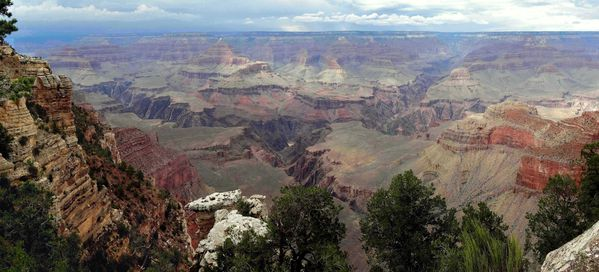 Grand Canyon Mather Point pano c