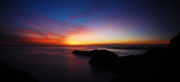 Pano Sunrise Waitui