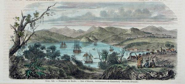 New Zealand - Banks Peninsular, Arkada c1865