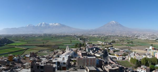 arequipa volcans