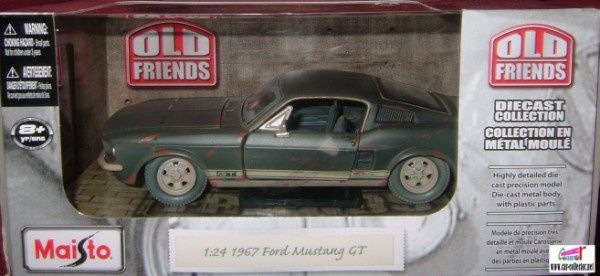 ford mustang 67 old friends maisto