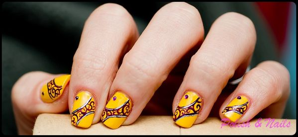 nail art jaune 01-BorderMaker-copie-1