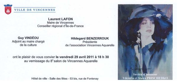 Vincennes invitation mairie 2011