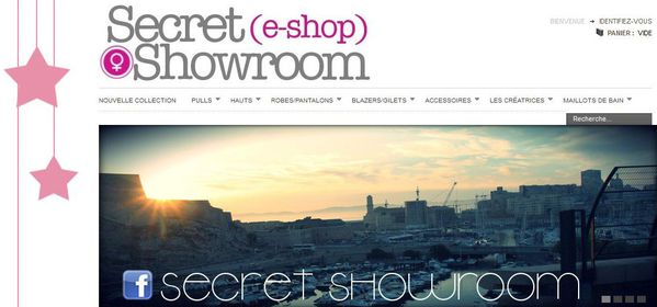 secret showroom.front