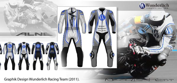 Leather alne for wunderlich racing team 2