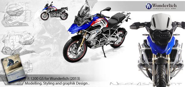 R1200GS liquid 2013 bmw Wunderlich global design