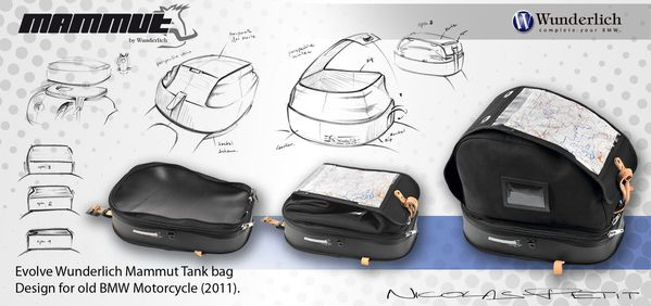 Wunderlich Tank bag Old bmw