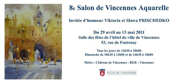 Vincennes invitation