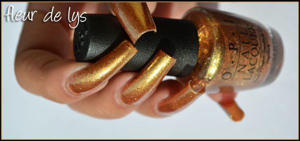 OPI Skyfall Collection swatchs