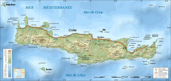 t10 Carte de la Crete