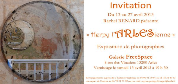 invitation vernissage w