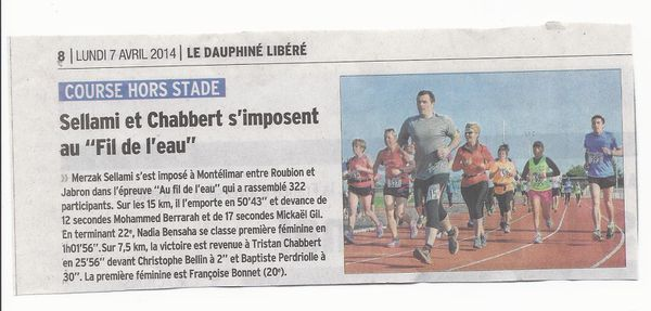article fil de eau 2014