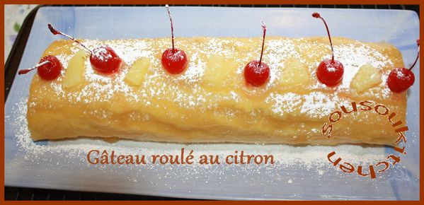 Roll Cake with Lemon pic 061