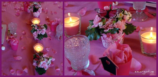 collage table rose 4