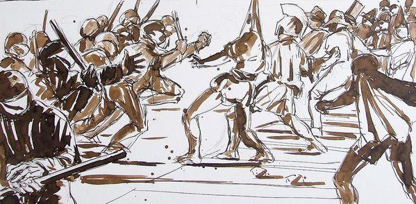 Les manifestations encre sépia, (6)