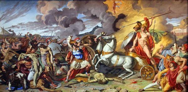 509g2 Caserta, palais royal, Achille et Hector