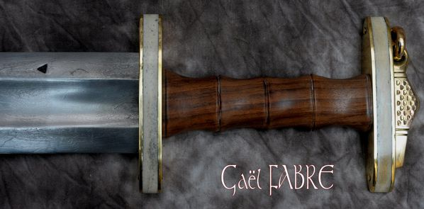 epee-damas-gael-fabre-forgee-merovingienne-medievale-40
