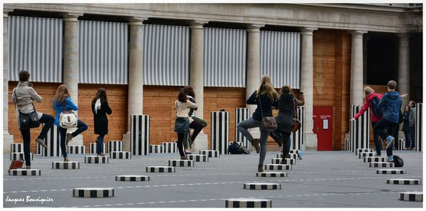 Paris Palais Royal photo groupe 3a