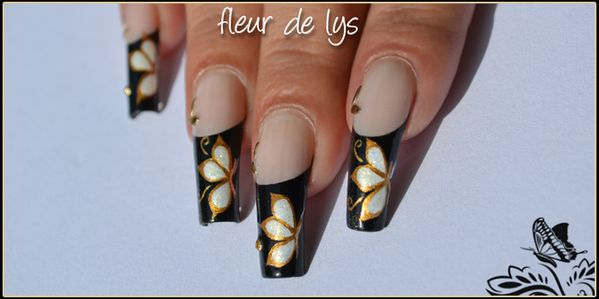 Nail Art papillon