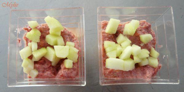 verrine betterave concombre pomme 3