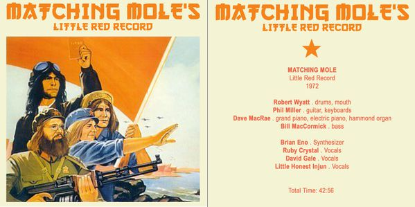 matching mole - the little red record front
