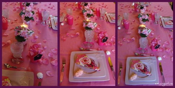 collage table rose 2