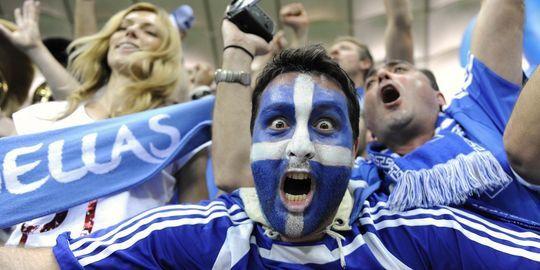 supporter grec