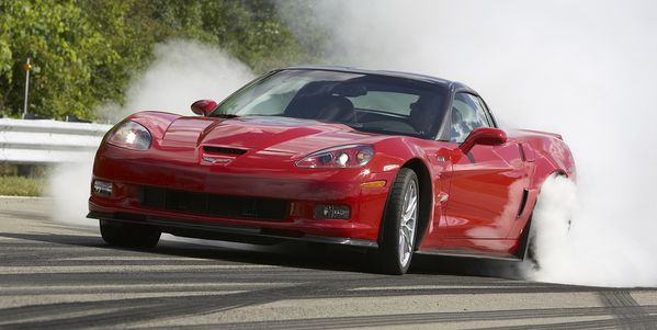 Chevrolet-Corvette ZR1 2009