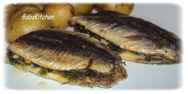 les sardines chermoula de linda - Baba\'s Kitchen