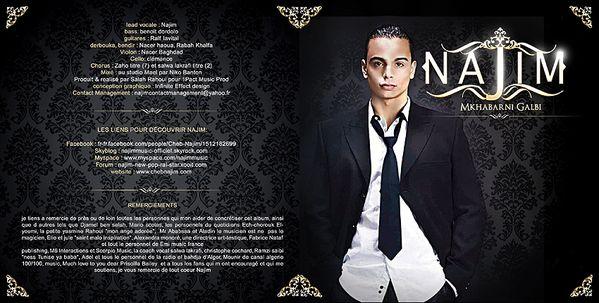 """Mkhabarni Galbi"" est le titre du nouvel album de cheb Najim !"