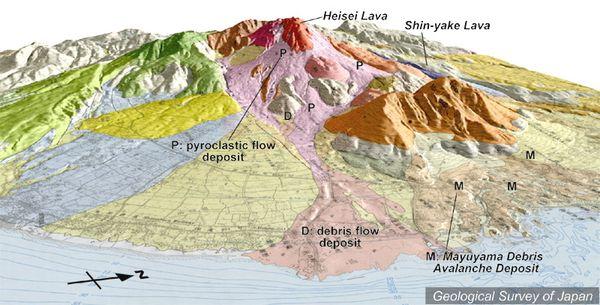 Unzen map 2 K.Nakajima