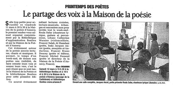 DL - journal du 15 mars 2011