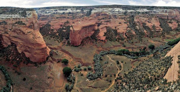 Canyon de Chelly nord pano Mummy cave b
