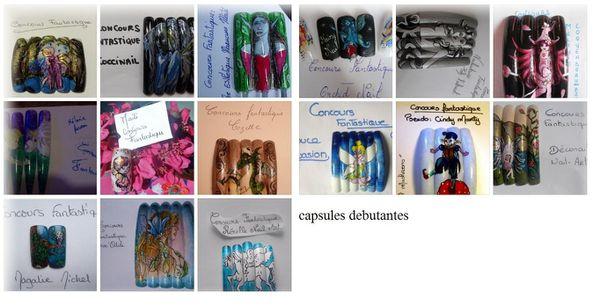 capsules debutantes