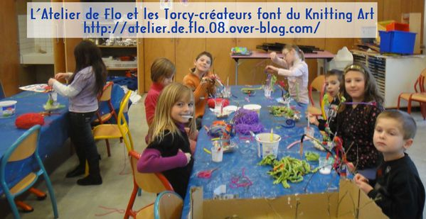knitting art atelier de flo laine sedan artiste Flo Megardon1