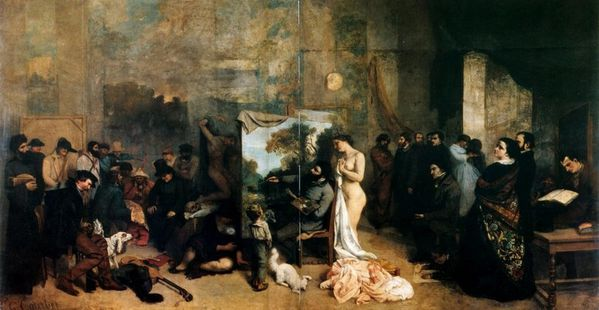 1855 Courbet Gustave l Atelier